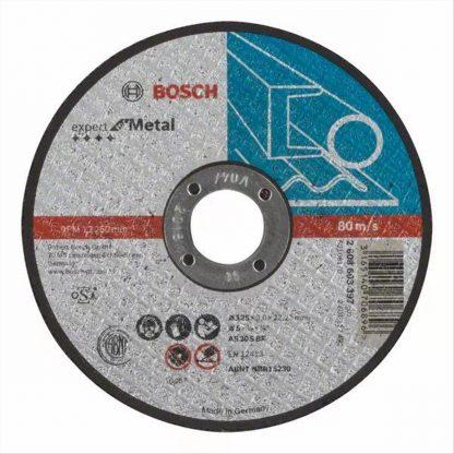 ΔΙΣΚΟΣ ΚΟΠΗΣ ΜΕΤΑΛΛΟΥ  BOSCH 2608600394 (A30SBF) Φ125x2,5x22,3mm