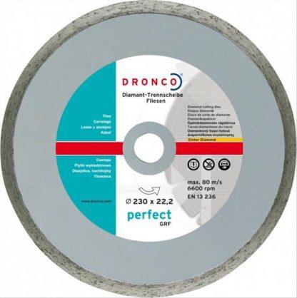 ΔΙΑΜΑΝΤOΔΙΣΚΟΣ PERFECT GRF ΓΙΑ ΠΛΑΚΑΚΙΑ DRONCO EN13236 ART No 4230510   230x22,33mm