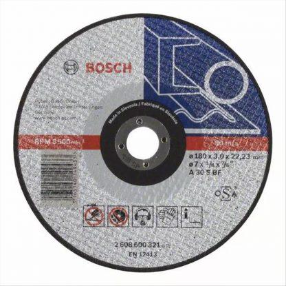 ΔΙΣΚΟΣ ΚΟΠΗΣ ΜΕΤΑΛΛΟΥ  BOSCH 2608600321 (A30SBF) Φ180x3,0x22,23mm