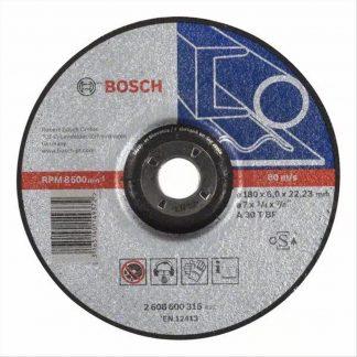 ΔΙΣΚΟΣ ΚΟΠΗΣ ΜΕΤΑΛΛΟΥ BOSCH 2608600315 (A30TBF) Φ180x6,0x22,23 mm