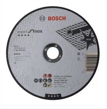 ΔΙΣΚΟΣ ΚΟΠΗΣ INOX  BOSCH 2608600095 Φ180x3,0x22,23mm