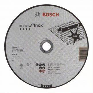 ΔΙΣΚΟΣ ΚΟΠΗΣ INOX BOSCH 2608600096 Φ230x2,0x22,23mm